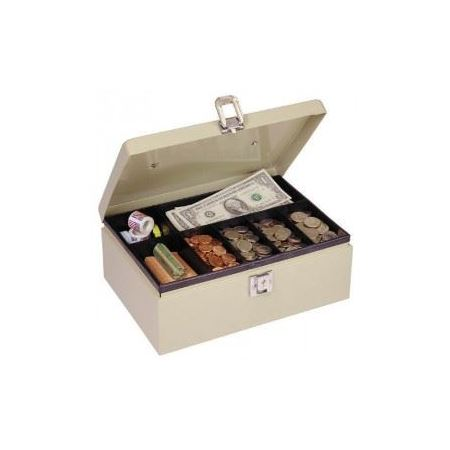 Cash Box/Locking Latch Removable 7 compartment tray
