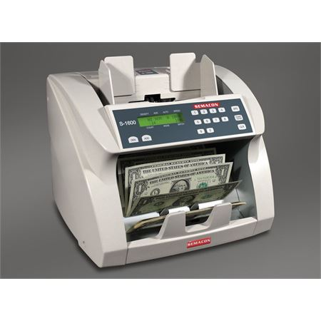 Semacon Series S-1600 Premium Grade Currency Counter