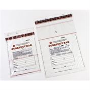 Plastic Deposit Bag, Clear (100 per) 19 x 28 Clear Currency Bags