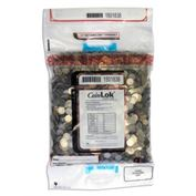CoinLok Plastic Coin Deposit Bags 12 x 20  Dual Handle (14.5 x 25) -250 Count