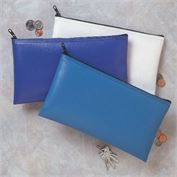 Zipper Wallets 12x8 Expanded Vinyl -                Click here for bulk pricing as low as $2.38 per bag!