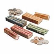 Coin Wrappers Flat Tubular - Click here for bulk pricing as low as $3.79 per box!