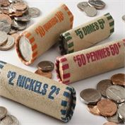 Cartridge Coin Wrappers (Single Denomination 1000 per)