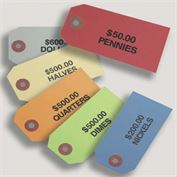 Coin Tags 2-3/8 x 4-3/4, 500 count