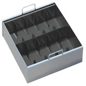 10 Compart Currency Tray