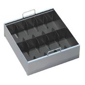 10 Compart Currency Tray W/Locking Cover
