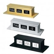 Self Storing Counter Calendars Double Faced