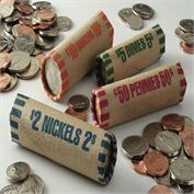 Precrimped Coin Wrappers